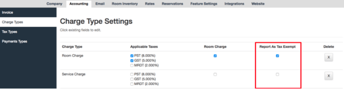 Roomsy Change Settings